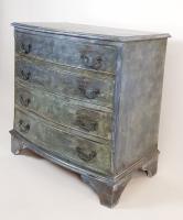 Mahogany Painted Chest of Drawers (4 of 4)