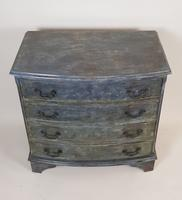 Mahogany Painted Chest of Drawers (2 of 4)