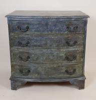 Mahogany Painted Chest of Drawers