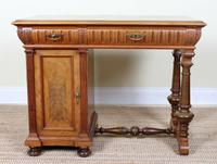 Swedish Biedermeier Walnut Writing Desk 19th Century