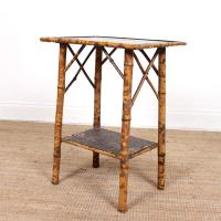 Aesthetic Lacquer Bamboo Table 19th Century (2 of 8)