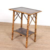 Aesthetic Lacquer Bamboo Table 19th Century (3 of 8)