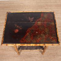Aesthetic Lacquer Bamboo Table 19th Century (4 of 8)