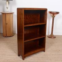 Petite Oak Open Bookcase c.1920 (9 of 11)
