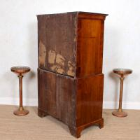 18th Century George III Oak Chest on Chest of Drawers Rosewood (12 of 12)