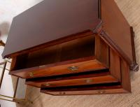 Cuban Mahogany Chest of Drawers Hindley Wilkinson 19th Century (8 of 11)