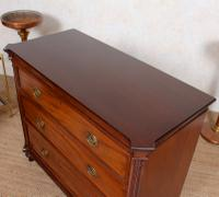 Cuban Mahogany Chest of Drawers Hindley Wilkinson 19th Century (5 of 11)