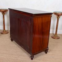 Cuban Mahogany Chest of Drawers Hindley Wilkinson 19th Century (11 of 11)