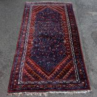 Iranian Qashqai Rug Large Carpet