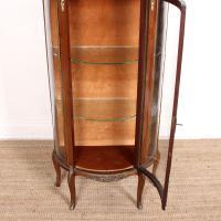 French Marble Kingwood Glazed Vitrine Display Cabinet c.1880 (10 of 20)