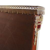 French Marble Kingwood Glazed Vitrine Display Cabinet c.1880 (18 of 20)