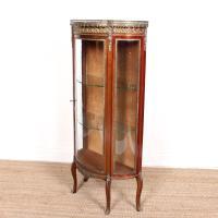 French Marble Kingwood Glazed Vitrine Display Cabinet c.1880 (15 of 20)