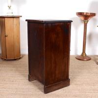 Oak Bedside Table Side Cabinet 19th Century (7 of 7)