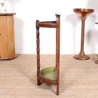 Carved Oak Umbrella Stick Stand (8 of 11)