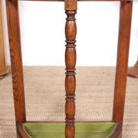 Carved Oak Umbrella Stick Stand (5 of 11)