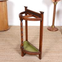 Carved Oak Umbrella Stick Stand (6 of 11)