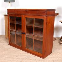 Astragal Glazed Bookcase Top c.1920 (5 of 6)