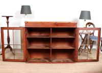 Astragal Glazed Bookcase Top c.1920 (2 of 6)