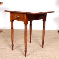 Victorian Petite Mahogany Drop Leaf Pembroke Table (8 of 11)