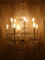 Original Bohemian Crystal Chandelier c.1910