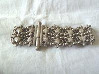 Charming 19th Century Arabic / Middle Eastern Silver Bracelet - Weighs 48.2g