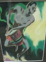 Superb Guy Huze Tribal Dancer 1970s (3 of 3)