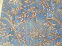 6 Late 19th Century / Early 20th Century Gouache Wallpaper Designs - Provenance with Abbott & Holder (10 of 12)
