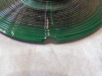 Pair of Georgian / Victorian Dark Green Glass Rummers. (8 of 8)