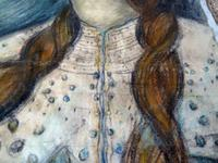 Stunning 19th Century Pre Raphaelite Portrait of a Young Lady - Rossetti, Millais, Holman Hunt (4 of 6)
