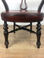Victorian Leather Desk Chair (4 of 4)