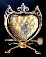 Art Nouveau Brass Dinner Gong (4 of 4)