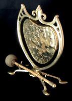 Art Nouveau Brass Dinner Gong (2 of 4)