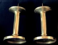 Gothic Revival  Altar Brass Candlesticks (3 of 4)
