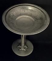 Homeland Arts & Crafts Style Pewter Tazza C.1930 (4 of 4)