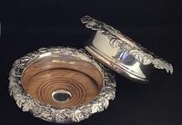 Pair of Silver Plated Mid Victorian Bottle Coasters (6 of 7)