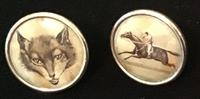 Victorian Lithograph Contryside Buttons (3 of 3)
