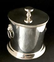 Silver Plated  Vintage Biscuit Barrel/Candy Box