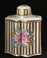 Dresden Ceramic Tea Caddy (3 of 5)