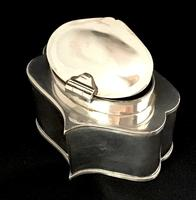 Antique Silver Plate On Copper  Tea Caddy (4 of 5)