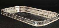 Silver Plated Famous Grouse Whiskey Tray (4 of 4)