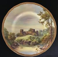Royal Worcester Plate Bothwell Castle (2 of 4)