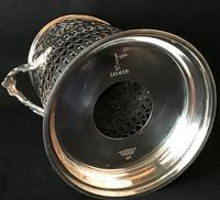 Walker and Hall Silver Plated Bottle Holder (3 of 4)