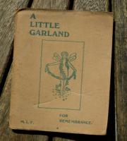 1908 Very Rare 1st Edition Mary L. Pendered a Little Garland Fairy's Poetry