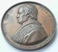 Papal States - Pius IX '1846-78' Electus Die 16Ta Junii / Mdcccxlvi Medal