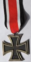 Original German Nazi Third Reich Medal WWII Iron Cross 2Nd Class Number 65