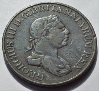 1815 Ceylon King George III 2 Stivers Coin (2 of 2)