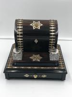 Impressive Antique Coromandel Desk Stand (2 of 7)