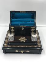 Impressive Antique Coromandel Desk Stand (3 of 7)