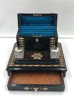 Impressive Antique Coromandel Desk Stand (4 of 7)