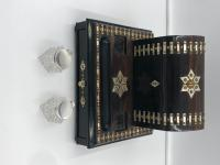 Impressive Antique Coromandel Desk Stand (7 of 7)
